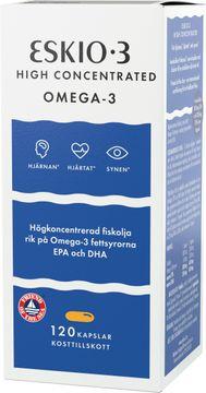 Eskio-3 High Concentrated Omega-3 Kapslar, 120 st