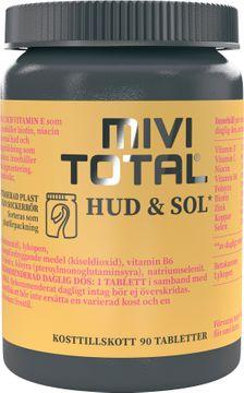 Mivitotal Hud & sol Tablett, 90 st