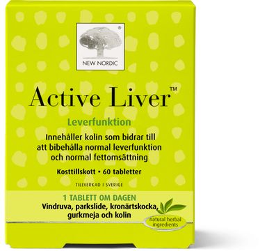 New Nordic Active Liver Tablett, 60 st