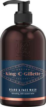 King C Gillette Beard Wash Skäggtvätt, 350 ml