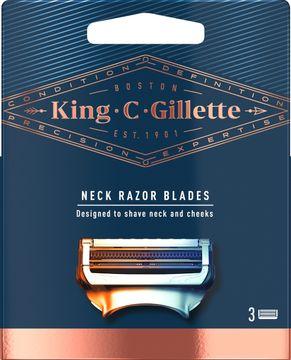 King C Gillette Neck Carts Rakblad, 3 st