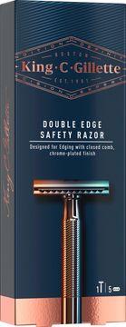 King C Gillette Double Edge Razor Rakhyvel, 5 st