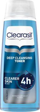 Clearasil Deep Cleansing Toner Ansiktsvatten, 200 ml