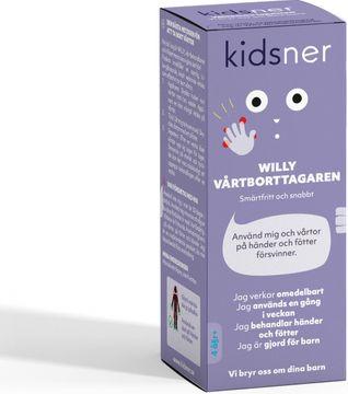 Kidsner Willy Vårtbehandling Vårtmedel, 4 ml