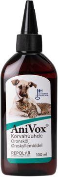 AniVox Öronskölj för djur, 100 ml