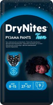 DryNites Pyjama Pants Boy 8-15 år Nattblöja, 9 st
