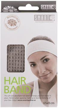 Smart Microfiber Hair Band Gray Hårband, 1 st