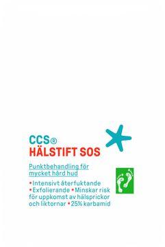 CCS Hälstift SOS Punktbehandling hård hud, 25 ml