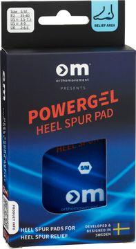 Ortho Movement Powergel Heel Spur Pad S/M Hälinlägg, 1-par