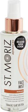 St Moriz Advanced Radiant Glow Face Mist Brun utan sol, 150 ml