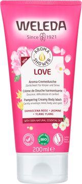 Weleda Aroma Shower Love Duschtvål, 200 ml