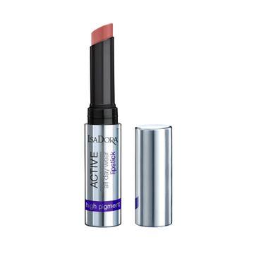 Isadora Active All Day Wear Lipstick 17 Fresh Peach Läppstift, 1,6 g