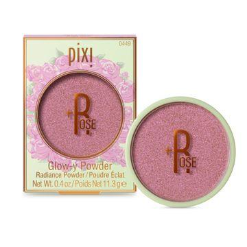 Pixi +ROSE Glow-y Powder Puder, 11,3 g