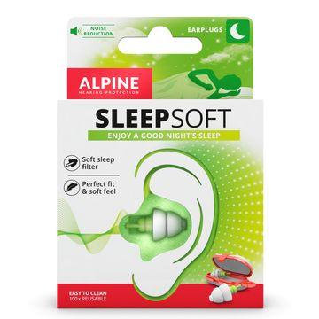 Alpine SleepSoft Ear Plugs Öronproppar, 1 par