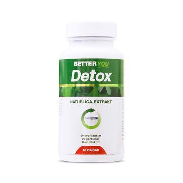 Better You Detox 10 Dagar Kapslar, 60 st