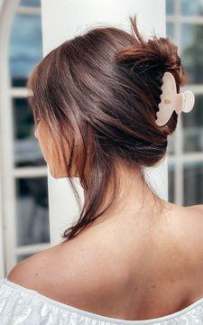Ia Bon Hair Claw Creme Crush Hårklämma, 1 st
