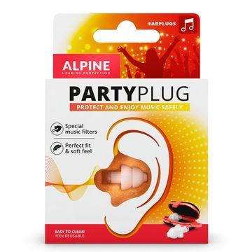 Alpine PartyPlug Ear Plugs Öronproppar, 1 par