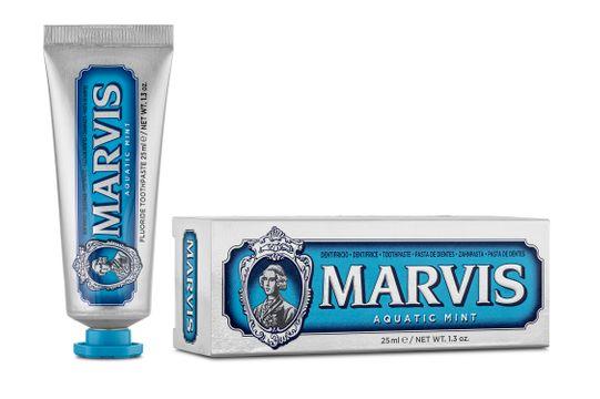 Marvis Aquatic Mint Tandkräm, 25 ml