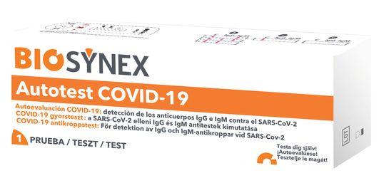 Biosynex COVID-19 antikroppstest Antikroppstest Covid-19, 1 st