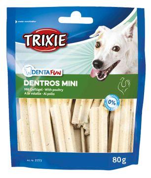 Trixie Dentros Mini 80G Tandvård för djur, 80 g