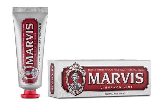 Marvis Cinnamon Mint Tandkräm, 25 ml