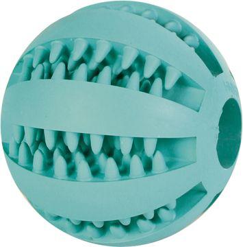Trixie Denta Fun Baseball MintFresh Naturgummi Hundleksak, 1 st