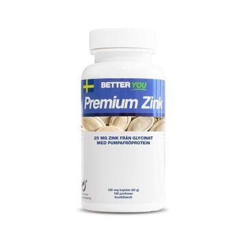 Better You Premium Zink Kapslar, 100 st