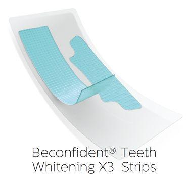 Beconfident Teeth Whitening X3 Strips, 10 days Tandblekning, 20 st