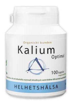 Helhetshälsa KaliumOptimal 100 kapslar