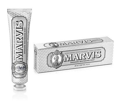 Marvis Smokers Whitening Mint Tandkräm, 85 ml