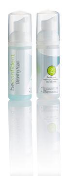 Beconfident Dual Foam Teeth Whitening with Sodium Fluoride Tandkräm, 100 ml