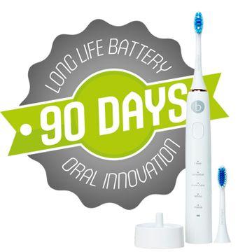 Beconfident Sonic Electric Whitening Toothbrush White/Rose Gold Tandborste, 1 st