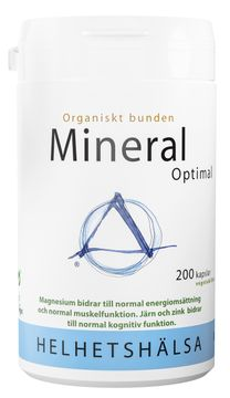 Helhetshälsa MineralOptimal 200 kapslar
