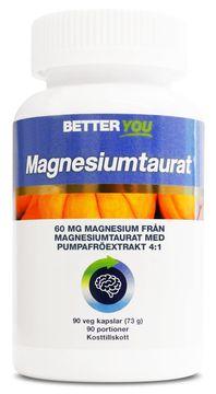 Better You Magnesiumtaurat Kapslar, 90 st