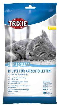 Trixie Simple´n´Clean Kattlådspåsar L Påsar för kattlådor, 10 st