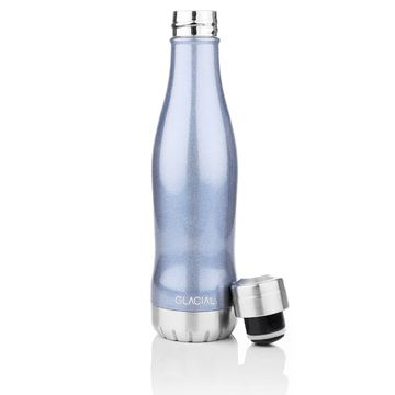 Glacial Blue Pearl 400 ml Vattenflaska, 1 st