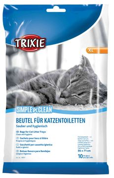 Trixie Simple´n´Clean Kattlådspåsar XL Påsar för kattlådor, 10 st