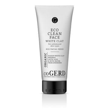 c/o Gerd Eco Clean Face White Clay Ansiktsrengöring, 200 ml