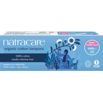 Natracare Tampong Super Plus Tampong, 20 st