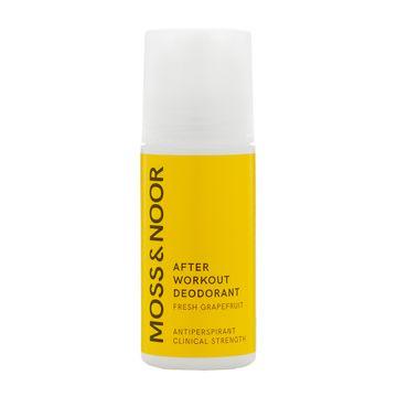 Moss & Noor After Workout Deodorant Fresh Grapefruit Deodorant, 60 ml