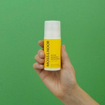Moss & Noor After Workout Deodorant Light Mint Deodorant, 60 ml
