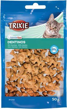 Trixie Dentinos Med Vitaminer Kattgodis, 50 g