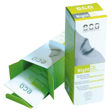 Eco Cosmetics Night Nattkräm, 50 ml