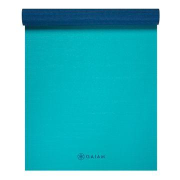Gaiam Yoga Mat Open Sea 2-Color Yogamatta, 4 mm