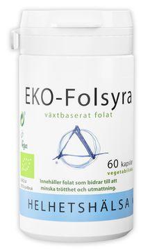 Helhetshälsa EKO-Folsyra 60 kapslar