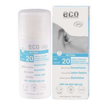 Eco Cosmetics Sun Lotion Neutral SPF 20 Solskydd, 100 ml