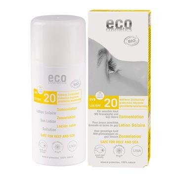 Eco Cosmetics Sun Lotion SPF 20 Solskydd, 100 ml
