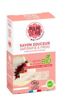 Pulpe de Vie Solid Body And Hand Soap White Peach Handtvål, 100, g