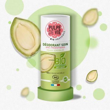 Pulpe de Vie Deodorant Prebiotic Almond Deodorant, 55, g