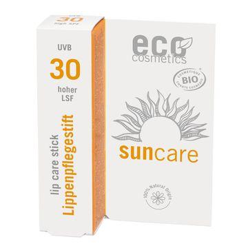 Eco Cosmetics Lip Care SPF 30 Läppbalsam med solskydd, 4 g